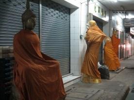 schlafende Buddhas