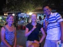 Letzter Abend mit Federika am mobilen Cocktailstand