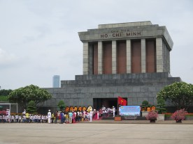 zu Besuch bei Ho Chi Minh