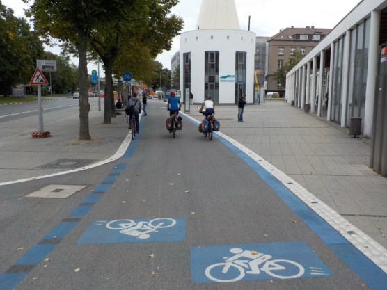 Radschnellweg in Göttingen