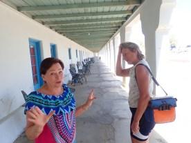 Diese Dame war sehr hilfsbereit und sehr begeistert von Marta
