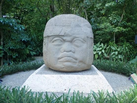 Olmeken-Kopf