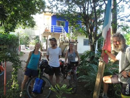 Sabrina, Denise und Martin sind in Chancun gestartet und guter Dinge