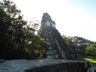 Templo I, in der Zeit der größten Macht entstanden, vom mächtigsten König erbaut, der übrigens 1,83 m groß war.