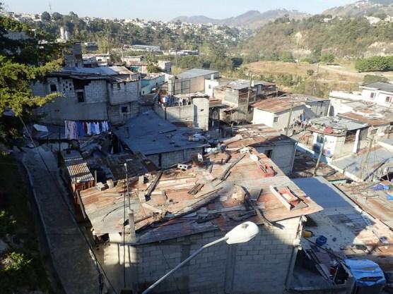 Stadtrand Guatemala-City