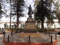 es gibt kaum Denkmäler für Indios