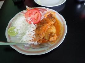 Cuy mit Reis