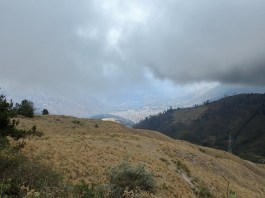 ca. 1000 m unter uns