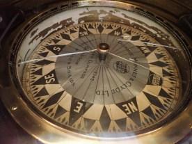 ... mit Kompass