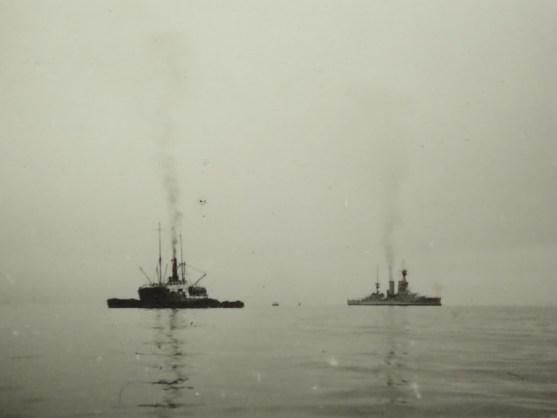 Dampfer vor 90 Jahren