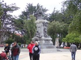 Magellan-Denkmal heute