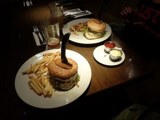 ... mit Mega-Burgern