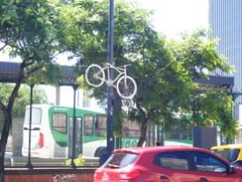 Hier starb ein Radfahrer.