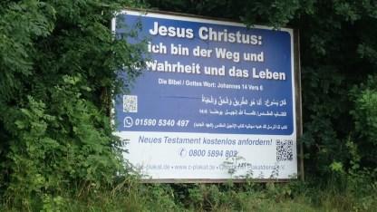 Christliche Mission auf arabisch
