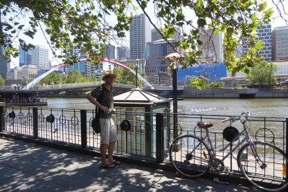 Australien-Melbourne-Southbank-Wolfgang