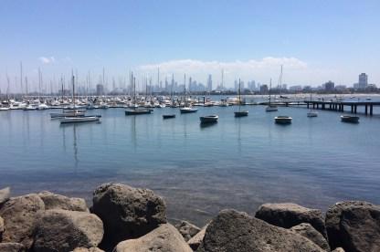 Australien-Melbourne-StKilda-Bucht