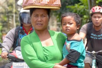 Bali-Land-Frau-Kind