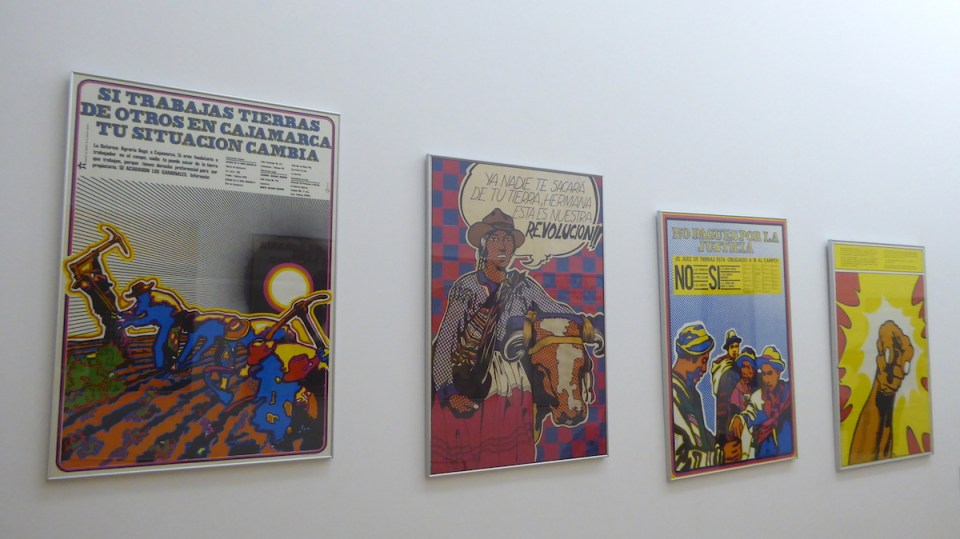 Viva la revolucion: Politische Plakate im Museum MALBA