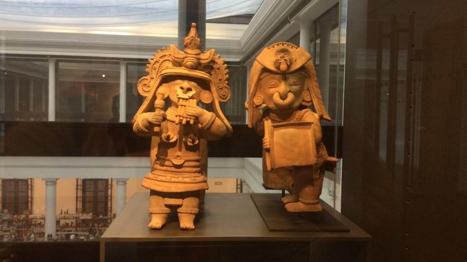 Chile Santiago MuseoPrecolombino Musiker und Krieger | aufmerksam reisen