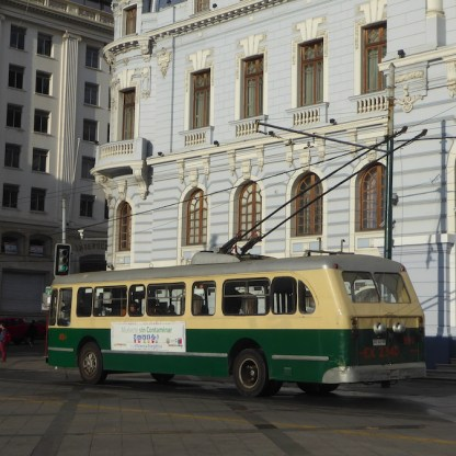 Chile-Valparaiso-Trolleybus