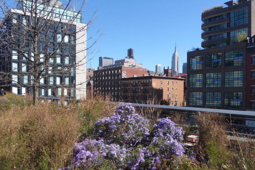 High Line Park in New York | letzte Station der Weltreise von Elke Zapf und Wolfgang Eckart