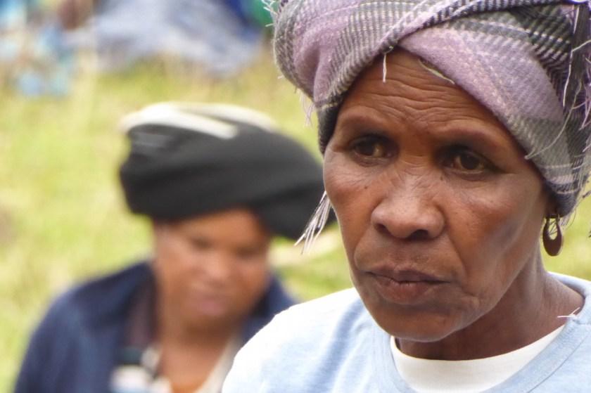 19 Monate auf Weltreise: Xhosa-Frau in Südafrika