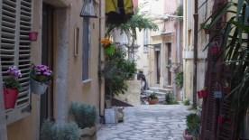 19 Monate auf Weltreise: Altstadtgasse in Kérkira
