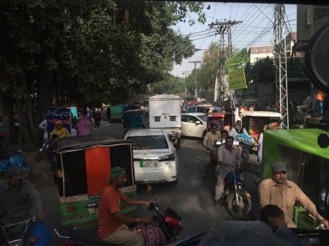 Verkehr in Lahore