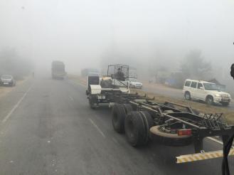 Lkw werden ohne Fahrerhaus und aufbau ausgeliefert
