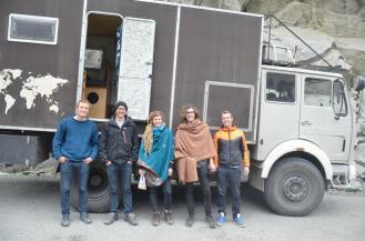 Die Deutschen aus Freudenstadt, auch mit dem eigenen Fahrzeug unterwegs