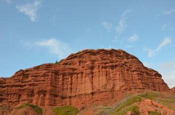 Die roten Felsen