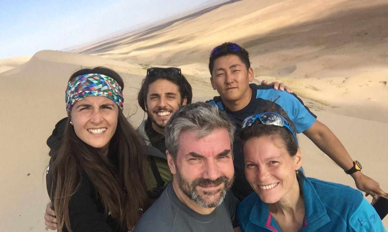 Mongolei Wüste Gobi