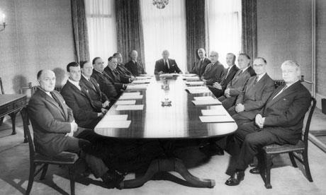 Men in a boardroom