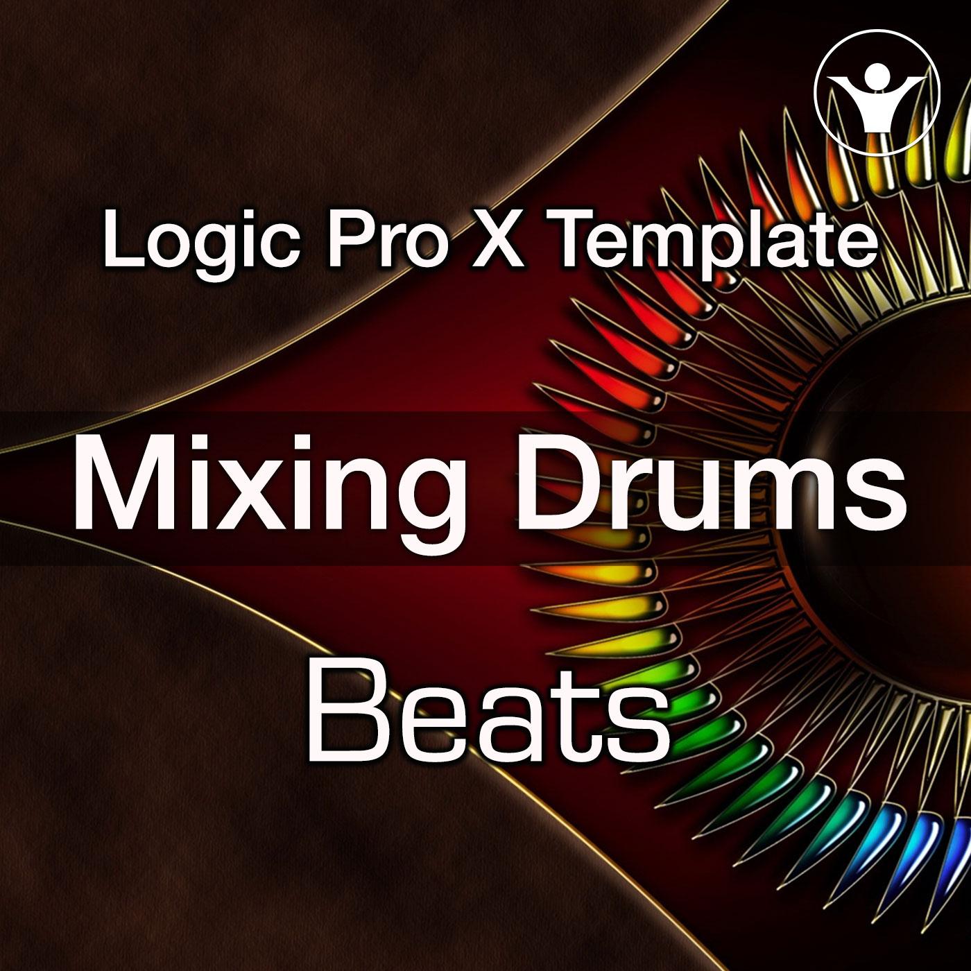 Mixing Drums Logic Pro X Logic Pro X Template