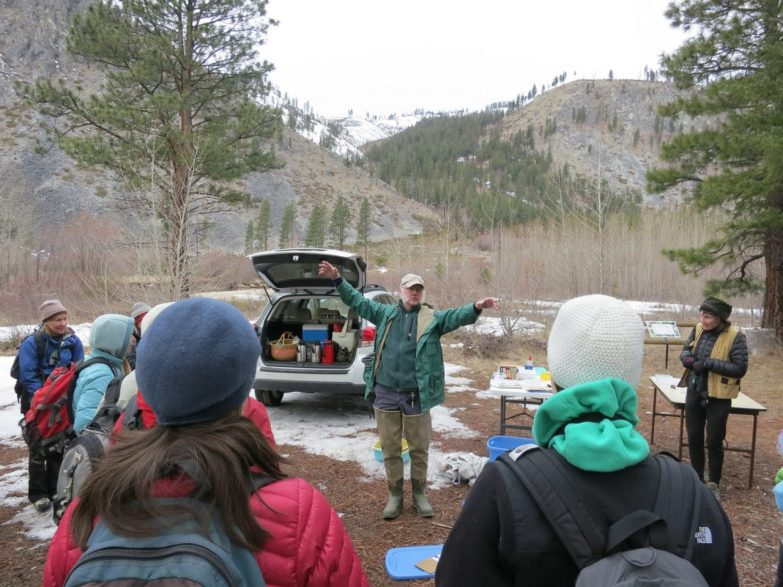 Aquatic Entomologist Mark Oswood puts us under his spell as he introduces the amazing world of riverbed foodwebs.
