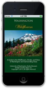 WA & OR Wildflower ID app