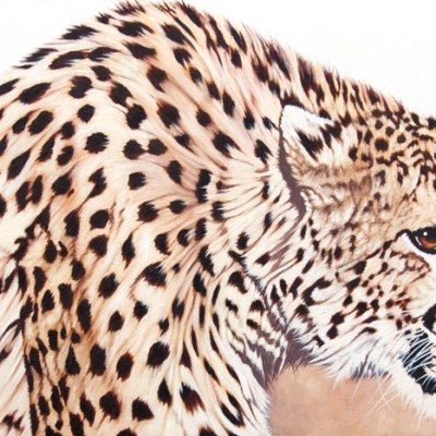 DIESEL    Oil on Canvas, 1220mm x 460mm  more info