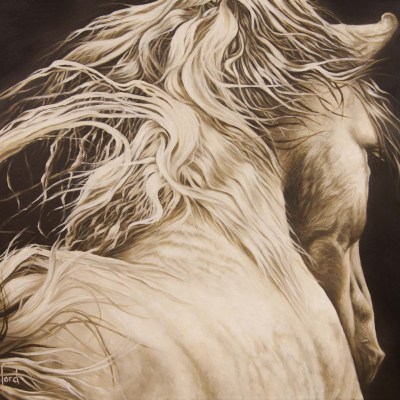 EPONA    Oil on Canvas, 510mm x 610mm  more info