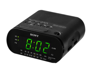 clock radio small