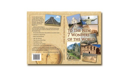 Travel Book Cover – To The New Seven Wonders Of The World