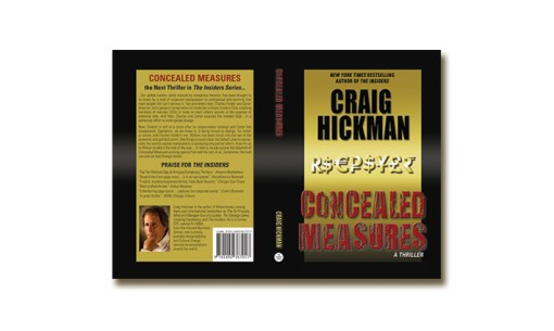 Fiction Book Cover – Concealed Measures