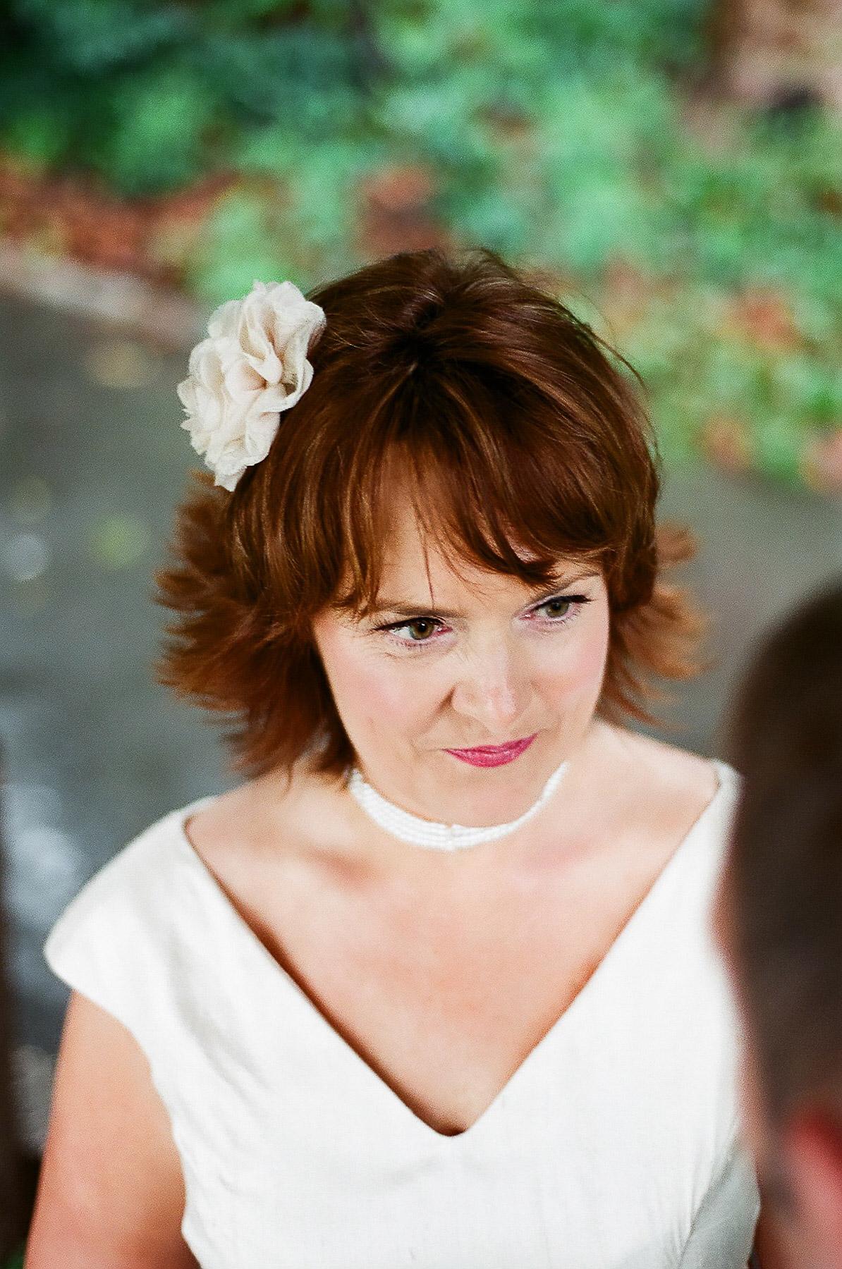 wedding elopement outdoor ceremony photo