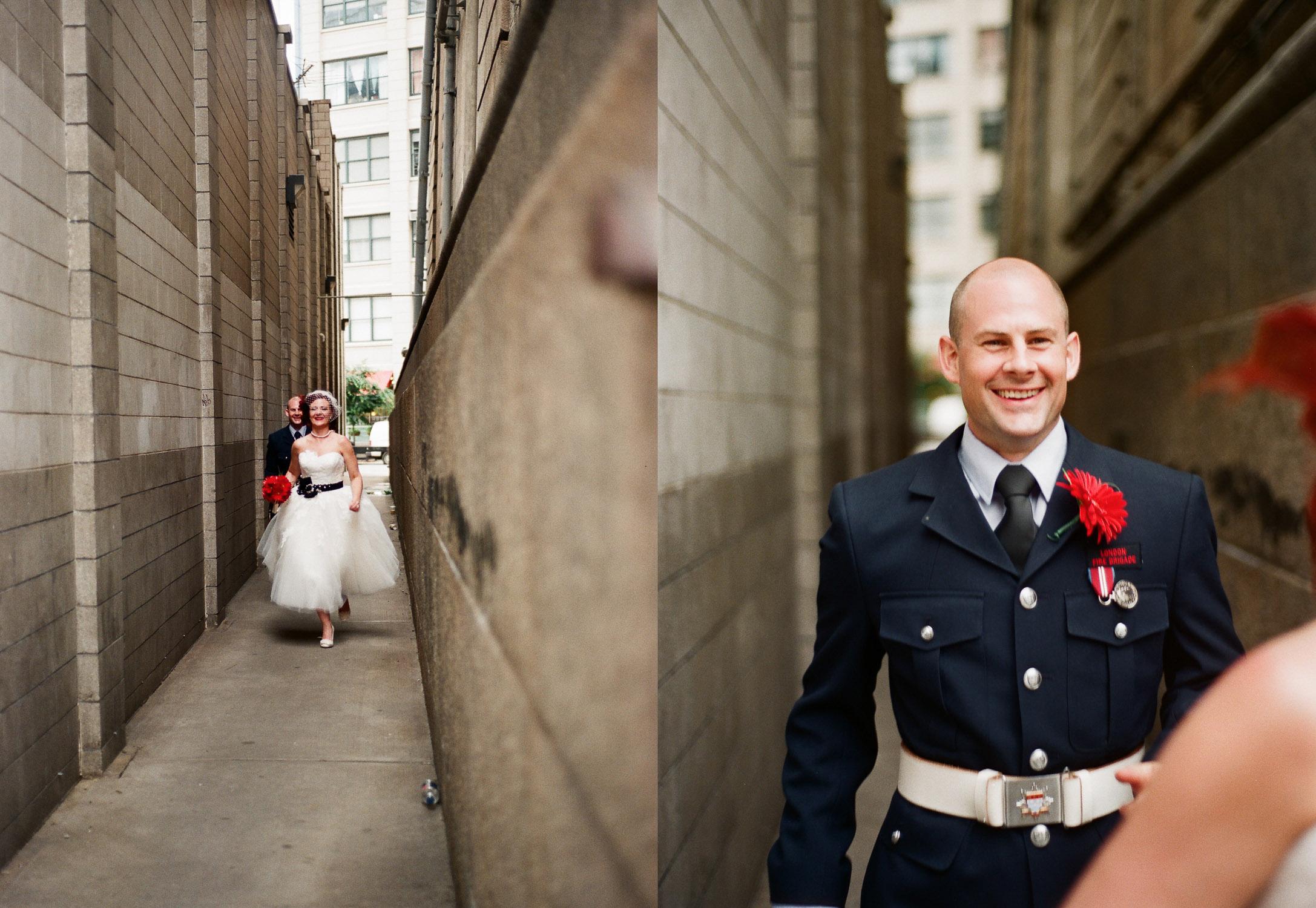 dumbo wedding portraits by wendy g photography