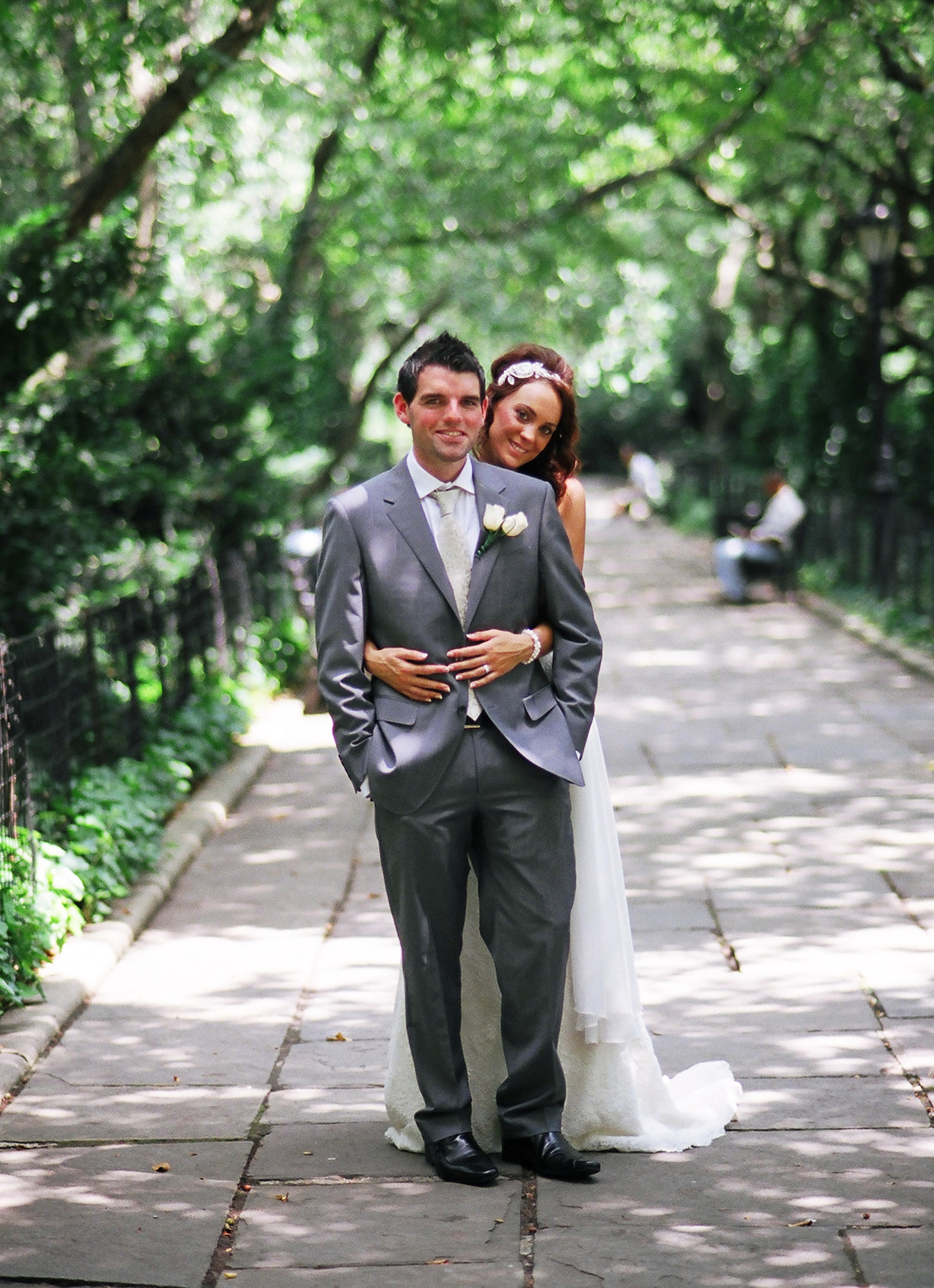 nyc conservatory garden mini wedding photo by wendy g photography