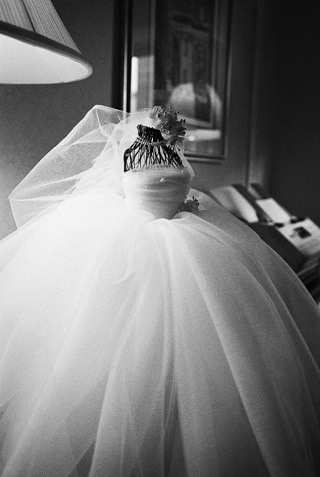 tiny wedding gown gift