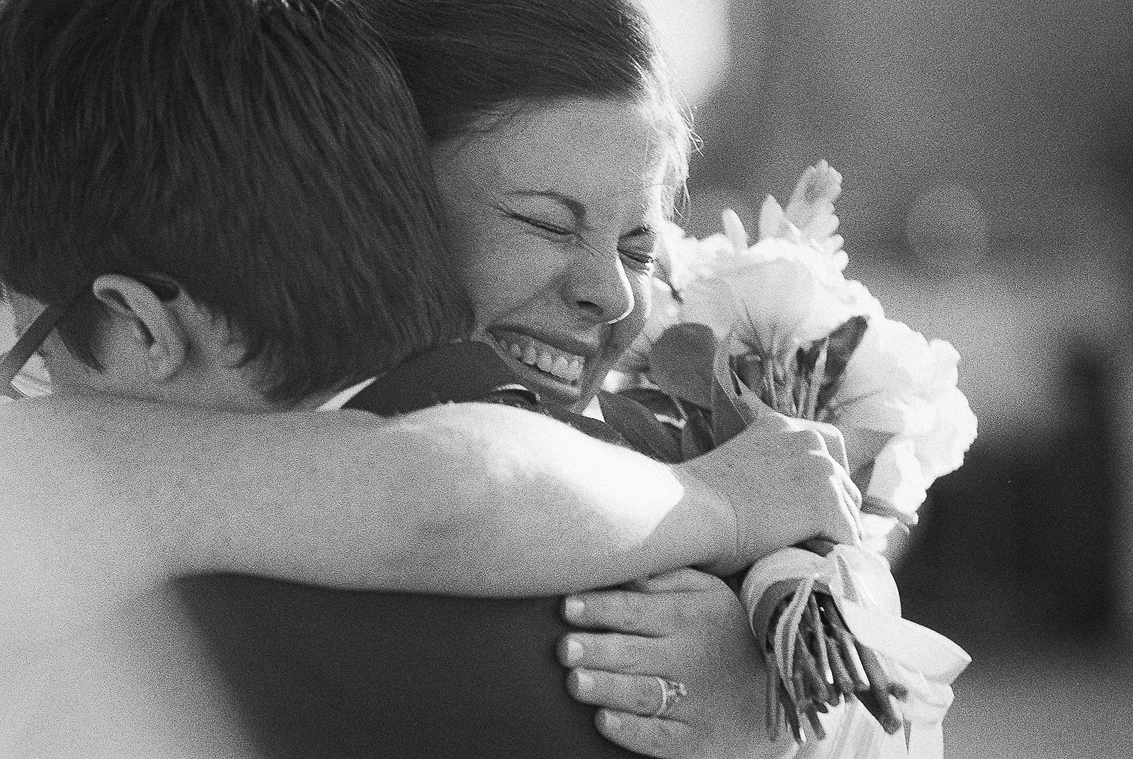brooklyn office ops wedding couple embrace
