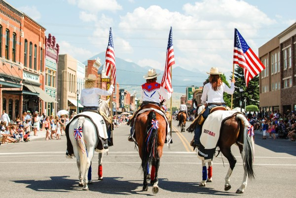 Livingston, Montana Fourth of July