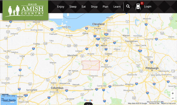 A Trip to Amish Country, Ohio   Wendy On A Whim Map Of Ohio Amish Counrty on map of amish in indiana, map of oh amish, map of amish communities,