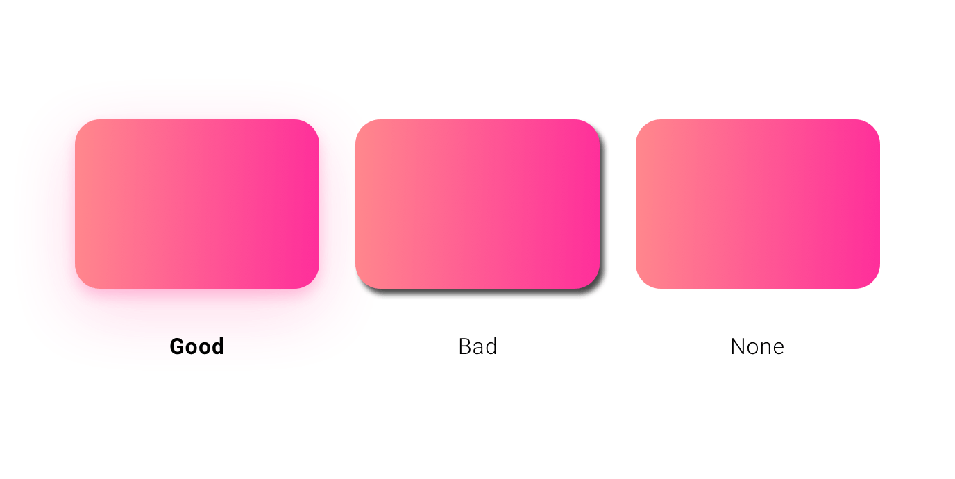 Learn UI Design – How to create soft UI shadow