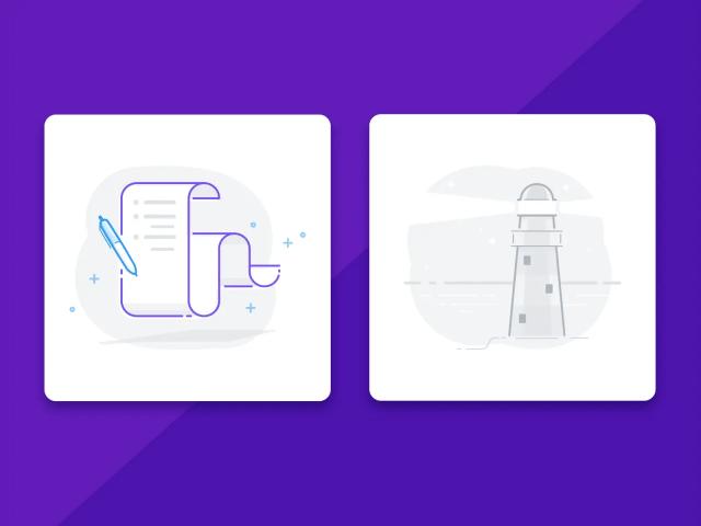 UI illustrations